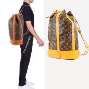 💯😻🕺Authentic LOUIS VUITTON GM Monogram Backpack